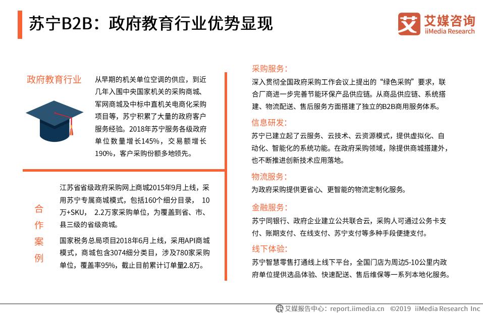 苏宁B2B:政府教育行业优势显现(三)
