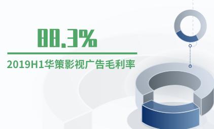 影视行业数据分析:2019H1华策影视广告毛利率为88.3%