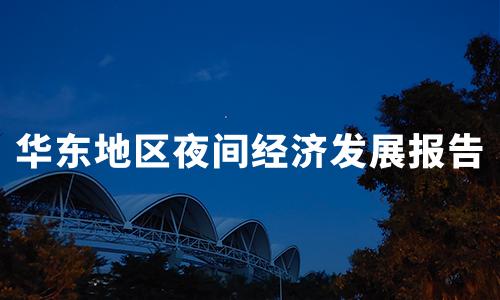 2020年中国华东地区夜间经济发展情况及区域特色分析报告