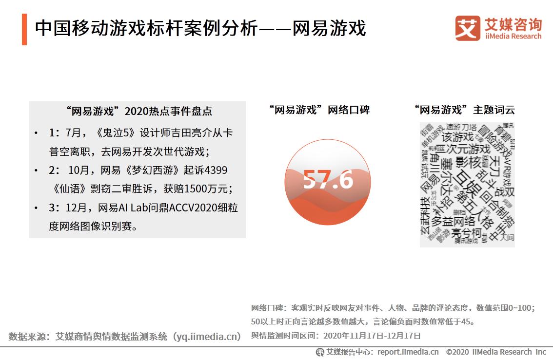 中国移动游戏标杆案例分析——网易游戏