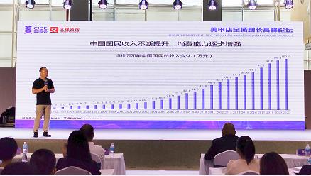 """艾媒咨询CEO张毅出席""""美甲店全域增长高峰论坛""""并发布报告,用数据对话美甲新未来"""