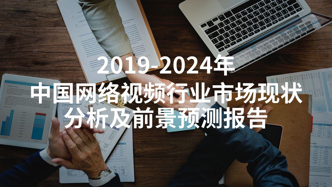 2019-2024年中国网络视频行业市场现状分析及前景预测报告