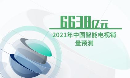 智能家居行业数据分析:预计2021年中国智能电视销售额达6638亿元