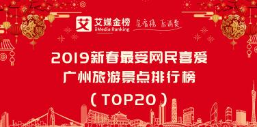 艾媒金榜|2019新春最受网民喜爱广州旅游景点排行榜:有你心仪的景点吗?