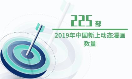 漫画行业数据分析:2019年中国新上动态漫画数量为225部