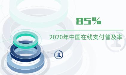 在线支付行业数据分析:2020年中国在线支付普及率达85%