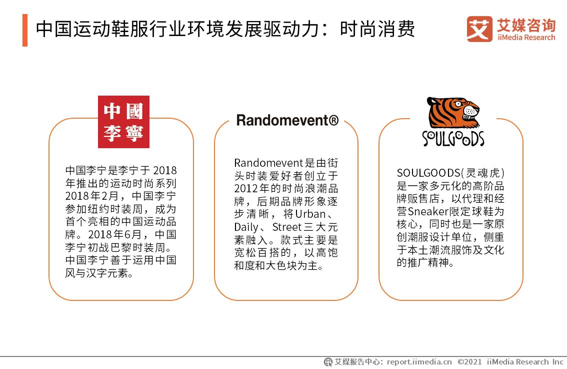 中国运动鞋服行业环境发展驱动力:时尚消费