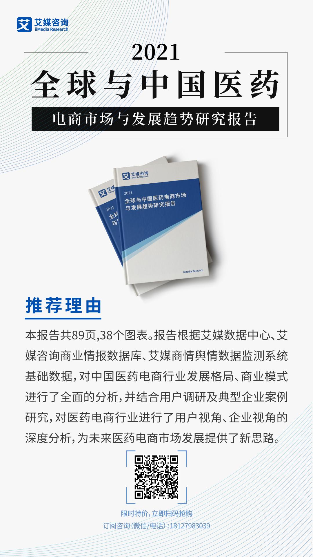 2021全球与中国医药电商市场与发展趋势研究报告