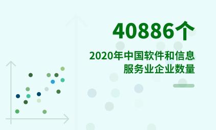 信息服务行业数据分析:2020年中国软件和信息服务业企业数量达40886个