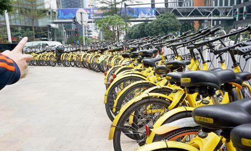 """共享电单车进入""""清退潮"""":继北京、上海等多地叫停后,长沙要求清退近40万辆"""