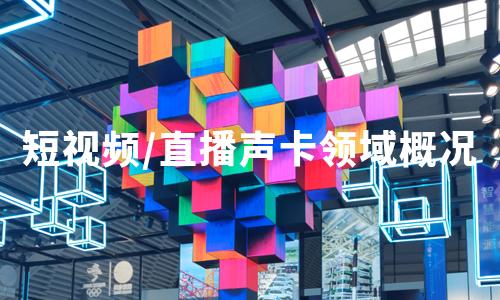2020年中国短视频/直播声卡领域发展概况及市场规模分析