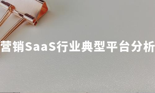 2020年营销SaaS行业典型平台分析:Adobe、询盘云、赛诺贝斯