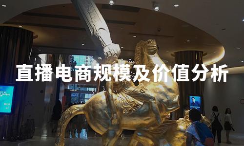 2020年中国直播电商规模、价值及竞争力来源分析