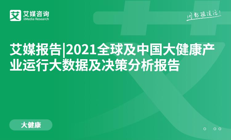预售 2021全球及中国大健康产业运行大数据及决策分析报告