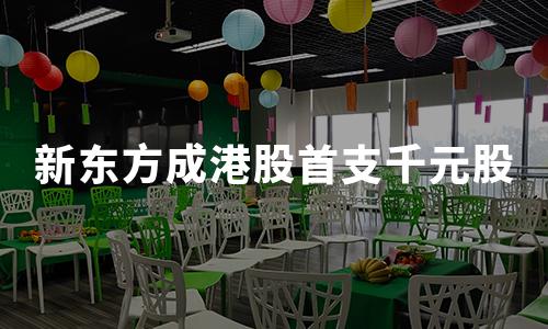 """首支""""千元股""""诞生!新东方二次赴港上市,高开16.05%,市值已超2335亿港元"""