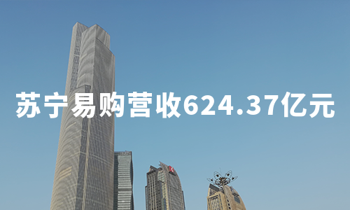 苏宁易购:三季度营收624.37亿元,双十一县镇店销售提升超100%